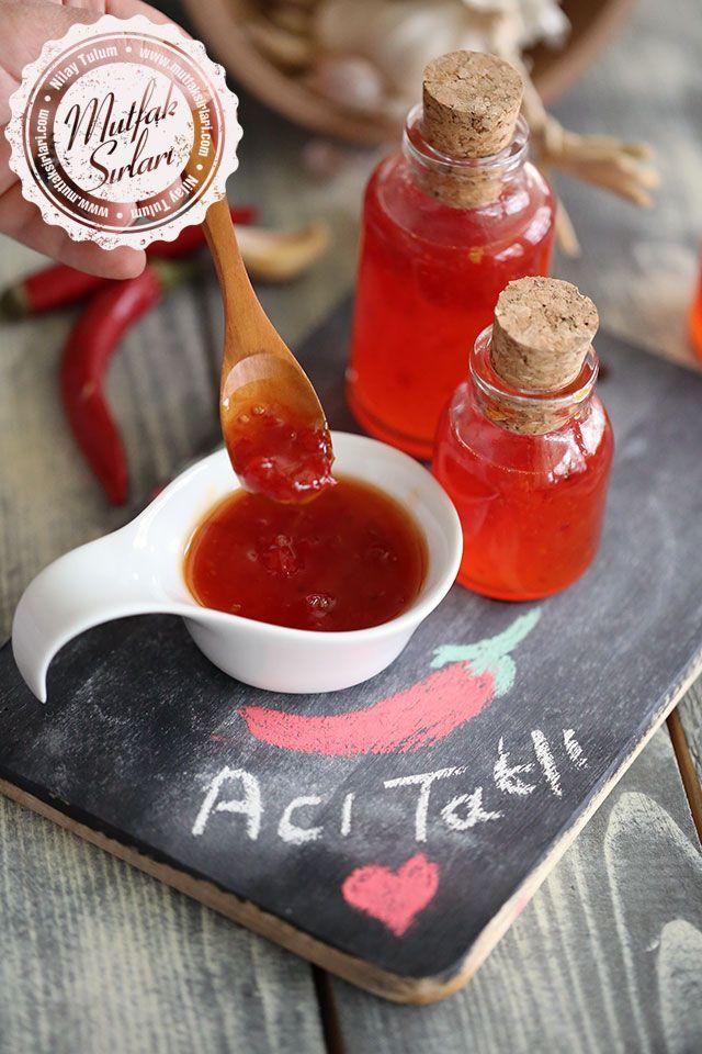 Acı Tatlı Sos (Ev Yapımı) - Sweet Chili Sauce