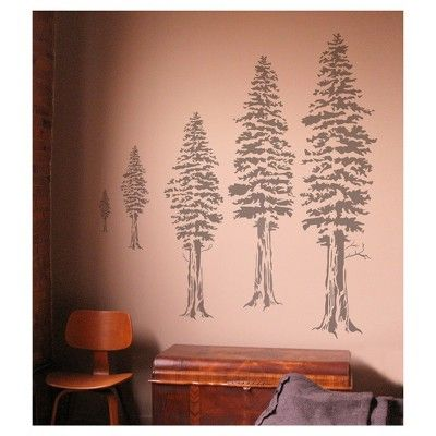 25 best ideas about tree wall stencils on pinterest for Pochoir mural geant