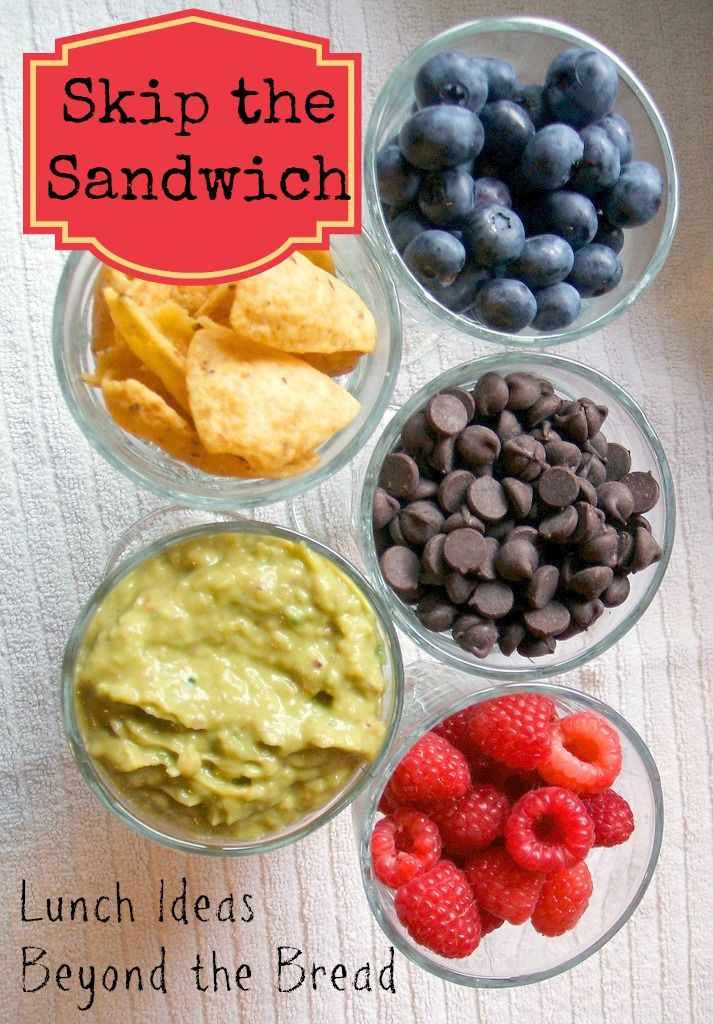 Skip the sandwich with these tips and strategies for packing lunches with real food. Never thought of guacamole before but my kids will love it!