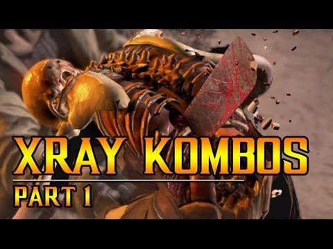 MKX: XRAY KOMBOS part 1
