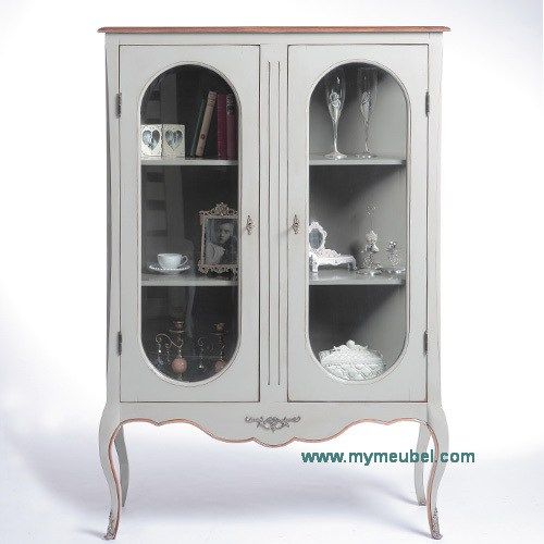 French Glass Display Cabinet