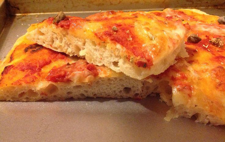 La pizza con la collaborazione del glutatione. Ricetta di Adriano Continisio.