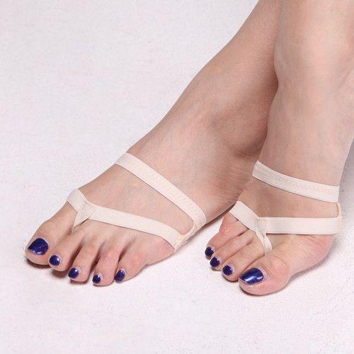 New 2016 Heel Protector Professional Ballet Dance Socks 1 Pair Belly Dancing Foot thong Dance Accessories Toe Pads