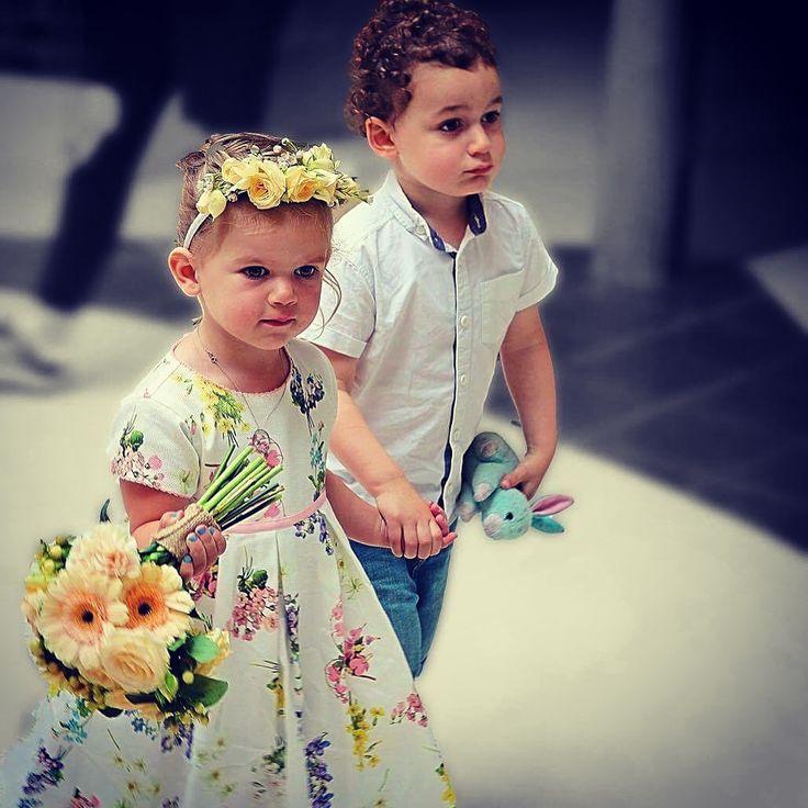 Cute little bridemaids