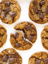 Chocolate Chunk Molasses Cookies. A soft and chewy ginger molasses ...
