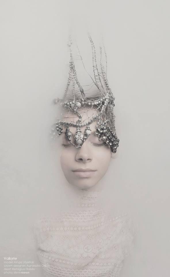 """Polish designer Agnieszka Osipa: Valkyrie (Photography by SlevinAaron) Em: """"Underdark Queen?"""""""