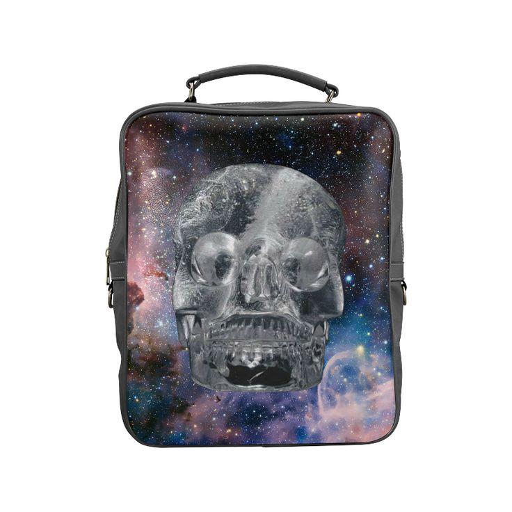 Crystal Skull Square Backpack (Model 1618)