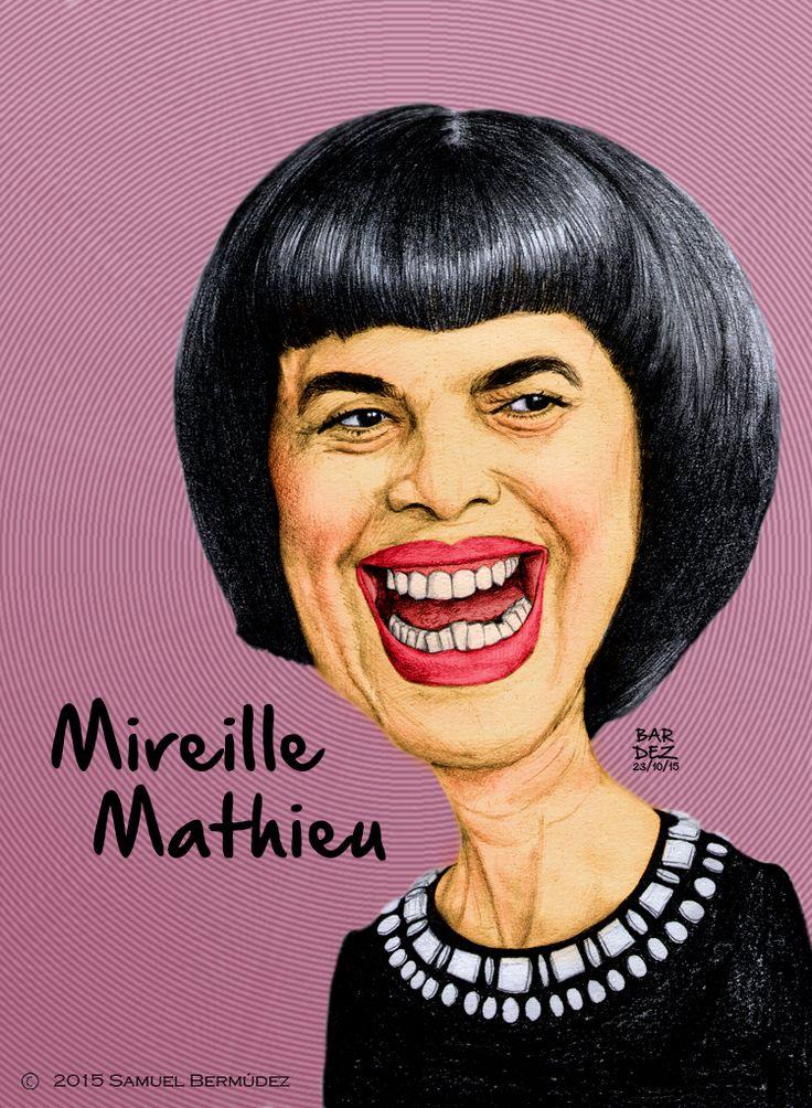 Mireille Mathieu  Todos los derechos reservados