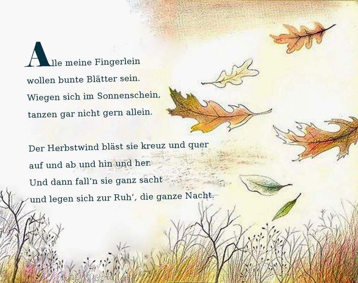 Gedicht für Kinder | Projekt | Pinterest | Kindergarten and Craft