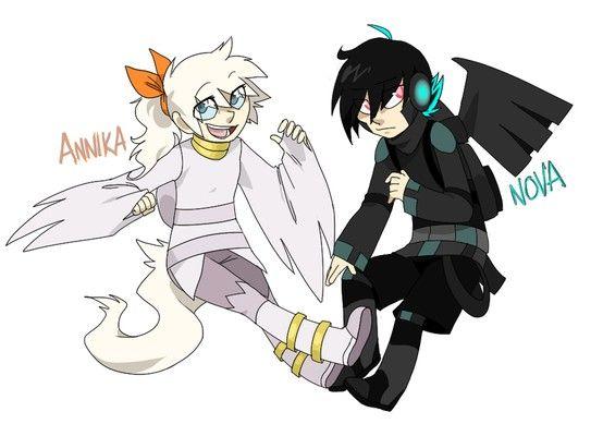 Reshiram and Zekrom Gijinka   Pokémon   Pinterest   Babies