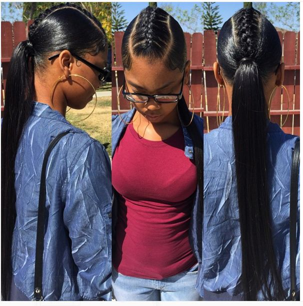 So Simple Yet Cute - http://community.blackhairinformation.com/hairstyle-gallery/weaves-extensions/simple-yet-cute/