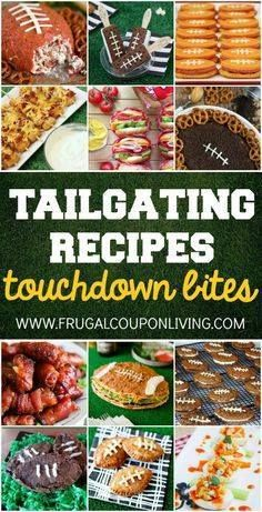 Tailgating Recipes a Tailgating Recipes and Football Party Food...  Tailgating Recipes a Tailgating Recipes and Football Party Food Ideas for your stadium gathering on Frugal Coupon Living. Dessert Football Recipes. Appetizers for game day. Recipe : http://ift.tt/1hGiZgA And @ItsNutella  http://ift.tt/2v8iUYW