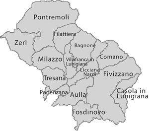 the lunigiana region in italy.