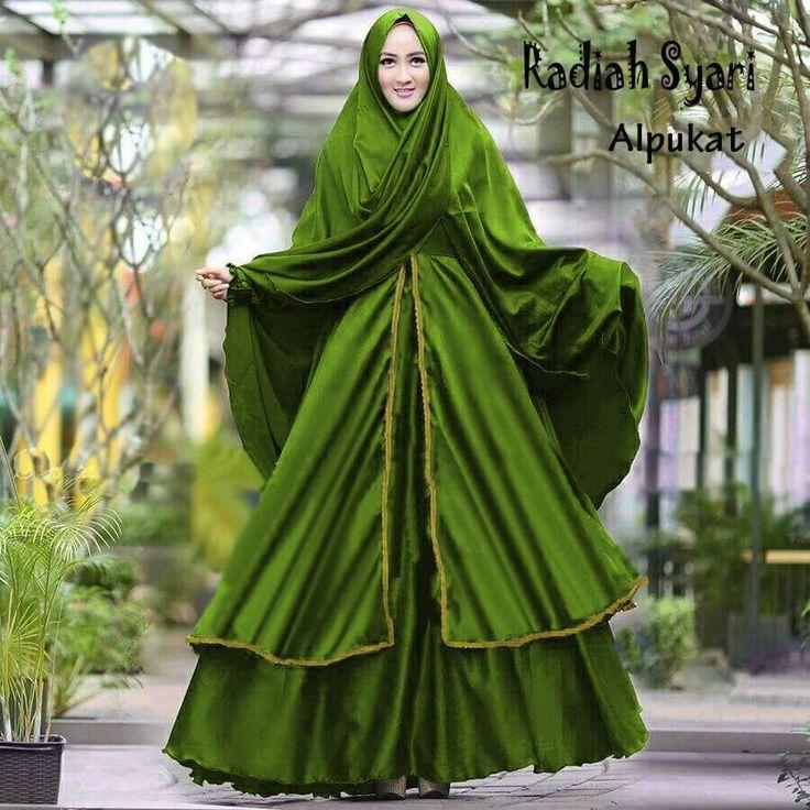 6 Model Pakaian Muslim Radiah Terbaru