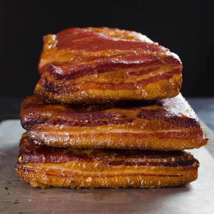 Homemade Bacon.  You have to do it at least once.  :)