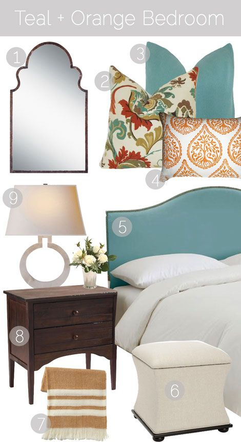 Best 25+ Teal bedroom designs ideas on Pinterest | Teal bedroom ...