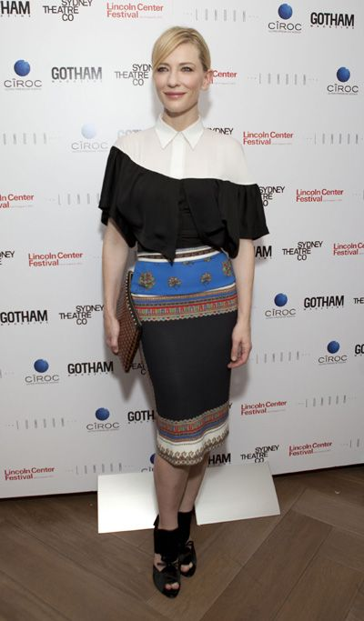 Cate Blanchett wears Givenchy to Gotham Magazine bash: Cate Tops, Cate Blanchett, Art Cate, Wear Givenchy, Barton Sets, Magazines Bash, Gotham Magazines, Bash Celebrity, Blanchett Wear