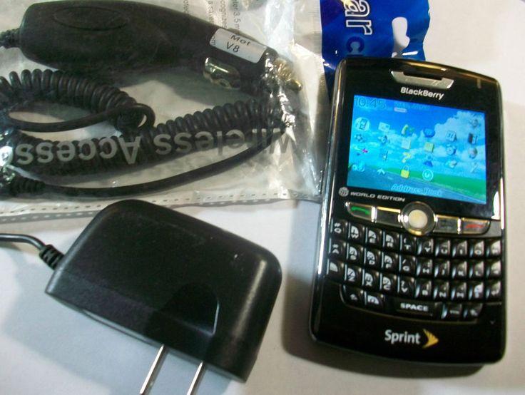 GOOD! BlackBerry 8830 World Edition QWERTY GPS Gobal Bluetooth SPRINT Smartphone  | eBay