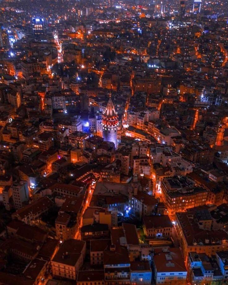 İyi akşamlar-Good evening Galata Tower-Istanbul ,