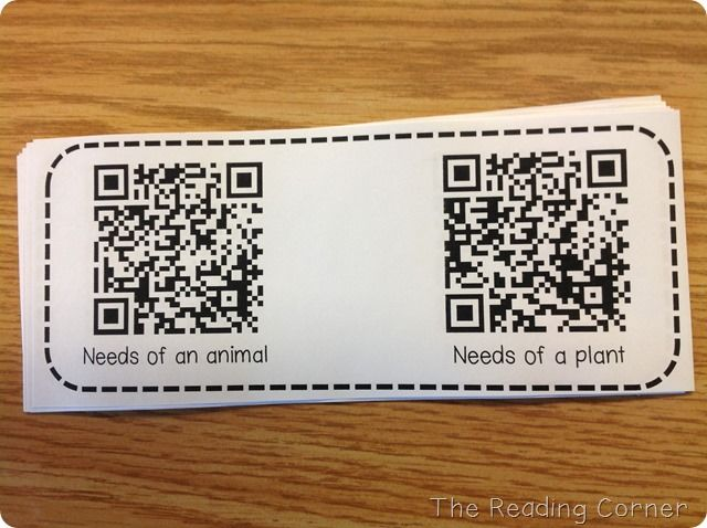 Using QR codes in the classroom- cool!