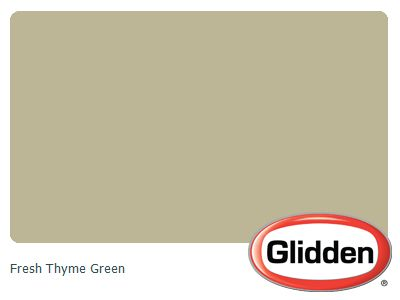 Fresh Thyme Green Paint Color