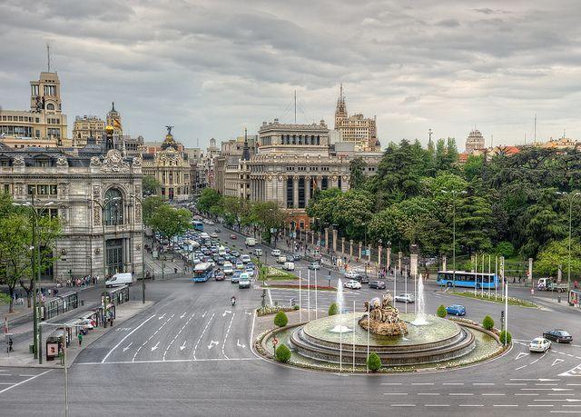 Plaza de Cibeles, Madrid (Spain), HDR   Flickr: Intercambio de fotos