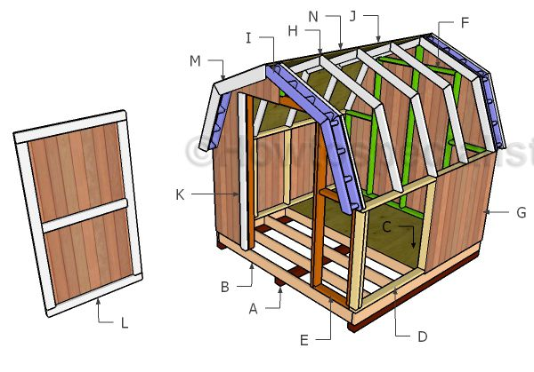 Mini Barn Shed Plans Outdoor Shed Plans Free Mini Barn