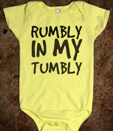 RUMBLY IN MY TUMBLY