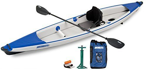 The world's first all Drop Stitch inflatable kayak! A lighter, narrower and faster to paddle, high performance solo kayak for the adventurer. With a tapered, hard-nose bow and stern, and fully constructed with Drop Stitch technology, the 393RL cuts through waves cleaner, straighter and...