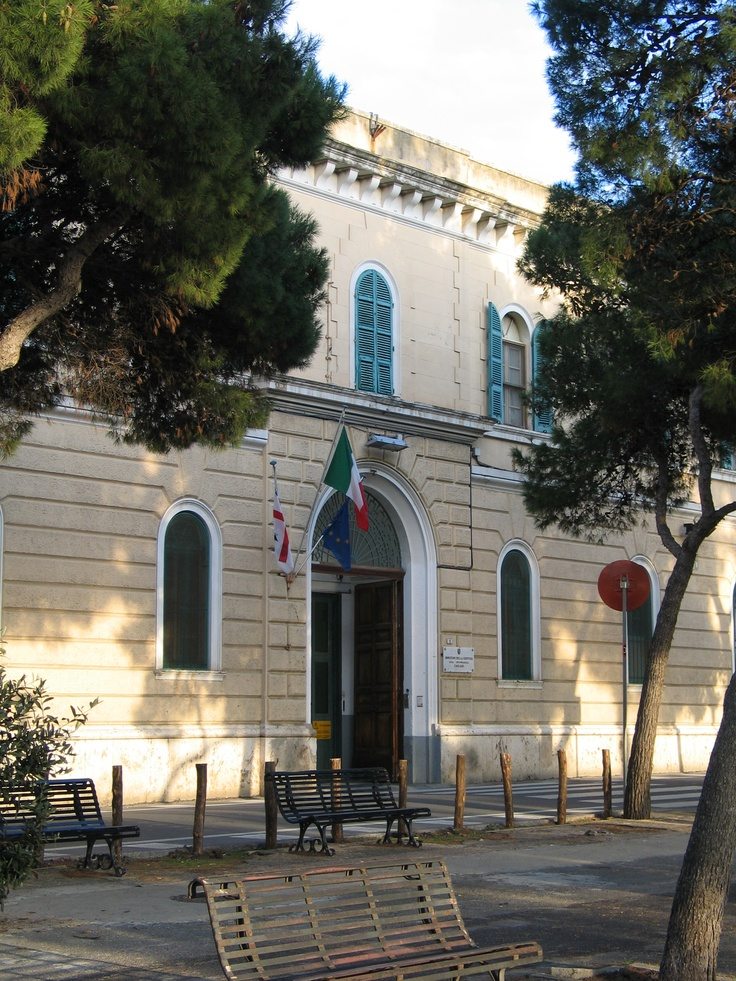 Entrance to the prison of Buoncammino