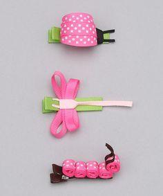 precioso clips de cabello para niñas