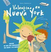 Valentina en Nueva York, de Anatxu Zabalbeascoa. (VERDE)