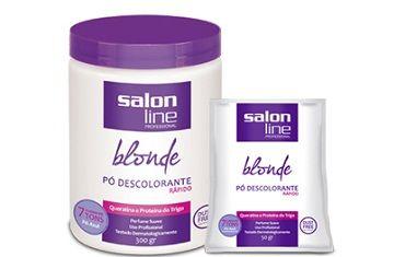 Pó Descolorante Salon Line. #salonline #podescolorante #loira #loiro #cabelos #lindos #blond #produtos