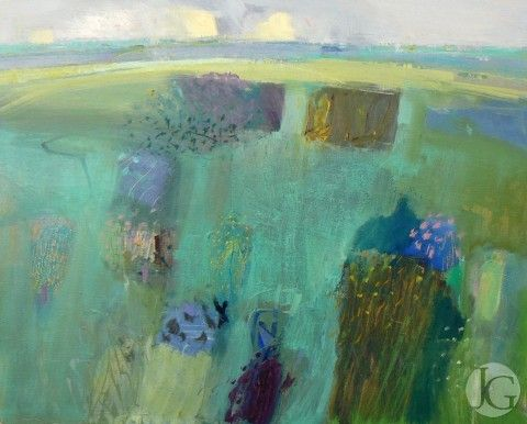 Landscape Paintings by Malcolm Ashman from The Jerram Gallery, Sherborne, Dorset. Contemporary British pictures and sculpture.