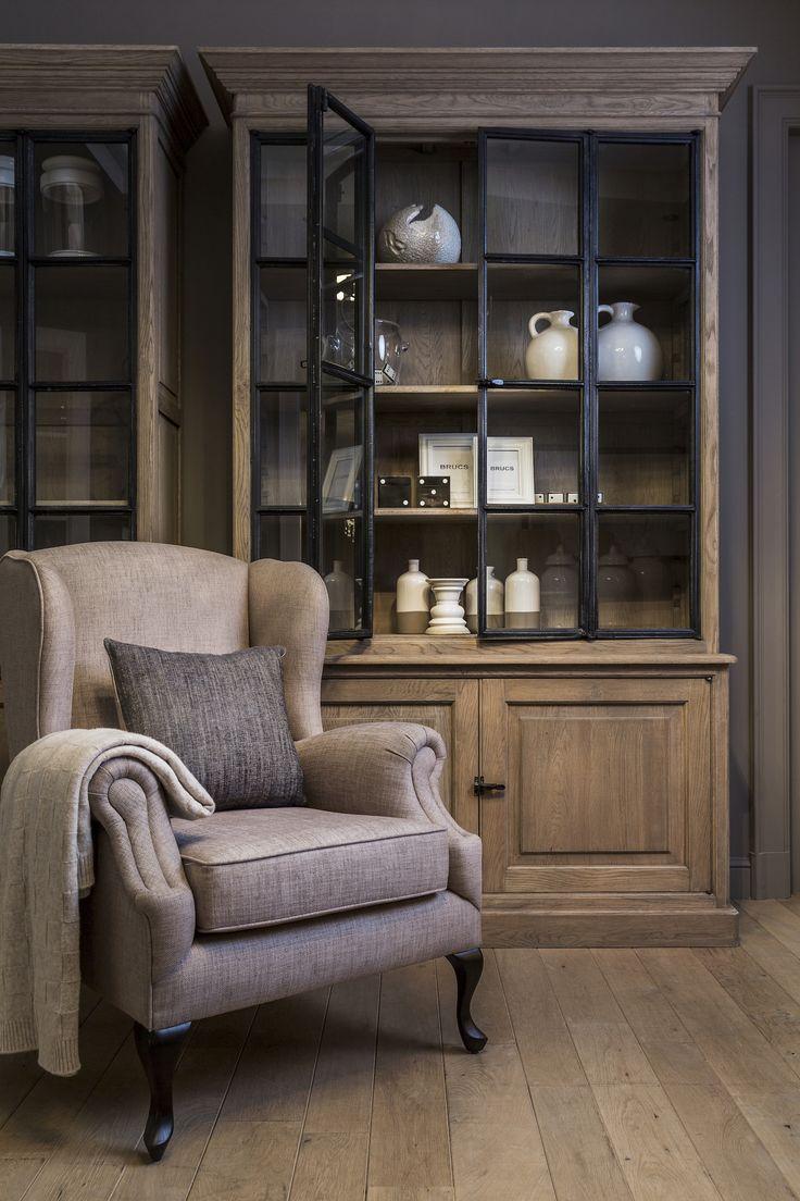 Onze charmante fauteuil 'Wellington' is een tijdloze klassieker.