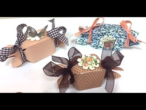 DIY Tutorial Candy Box con Envelope Punch Board - YouTube