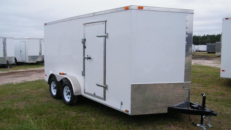 Enclosed Motorcycle Shelter : Ideas about enclosed cargo trailers on pinterest
