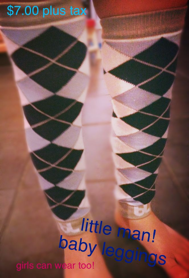 Little man baby leggings! I have one instock with me now going for $7 text me at 4038661890