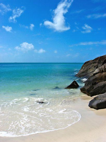 ~~Peace on Whitehaven ~ beachscape, Queensland, Australia by Nicole Doyle~~