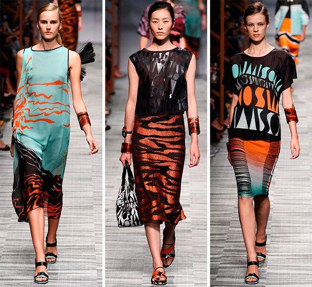 Missoni Spring/Summer 2014 RTW - Milan Fashion Week  #MFW #fashionweek #MilanFashionWeek
