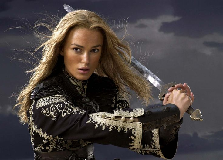 Aye, I have me sword to slay illusions! Elizabeth Swann. Pirates of the Caribbean: At Worlds End.  #pirates
