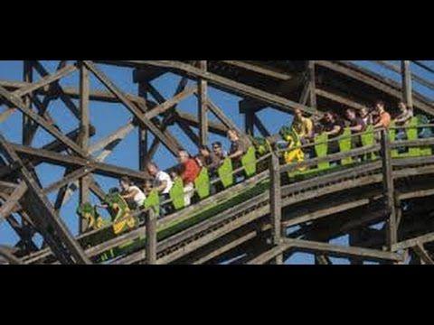 Roller-coaster Hullám vasút Budapest 1922-2015