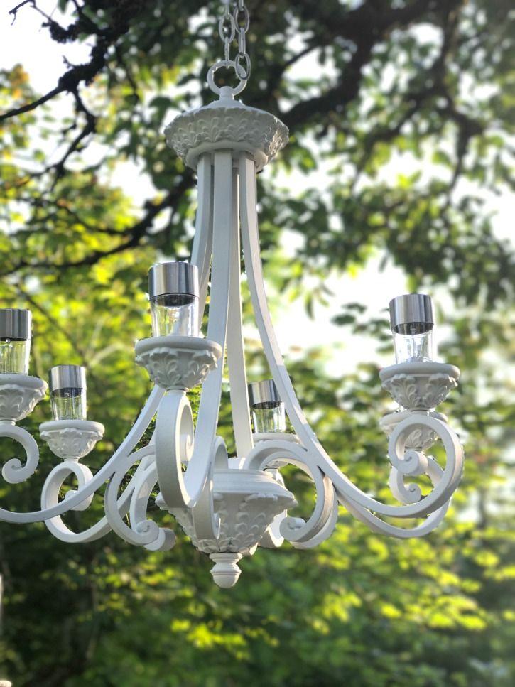 The 25 best solar light chandelier ideas on pinterest for Solar light chandelier diy