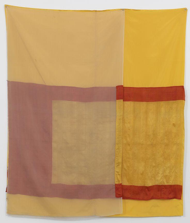 Robert Rauschenberg, Mirage (Jammer), 1975. Sewn fabric, 80 x 69 inches (203.2 x 175.3 cm). Robert Rauschenberg Foundation, New York, New York.