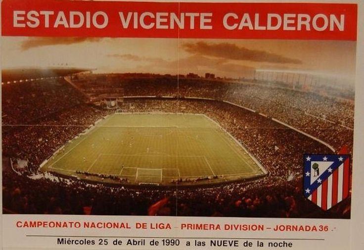 El calderón, a través de los años. - Estadios, uniformes, escudos, entradas, libros, cromos. - pág.84 - Foro del Atlético de Madrid