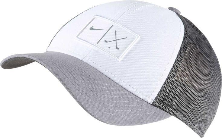 Nike Men S Mesh Golf Hat Size S M Gray
