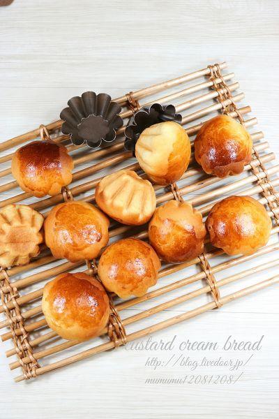 ほうじ茶カスタードクリームパン by きよみんーむぅ | レシピサイト「Nadia | ナディア」プロの料理を無料で検索