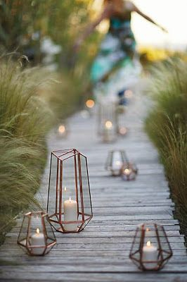 Love these lanterns for the bedroom or deck... Or anywhere