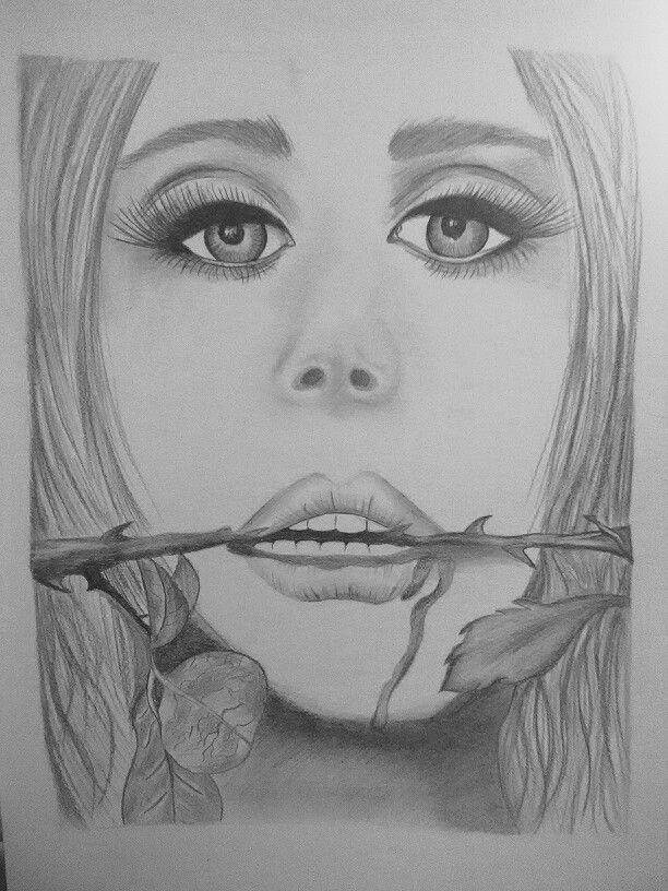 #drawingwoman #pencil