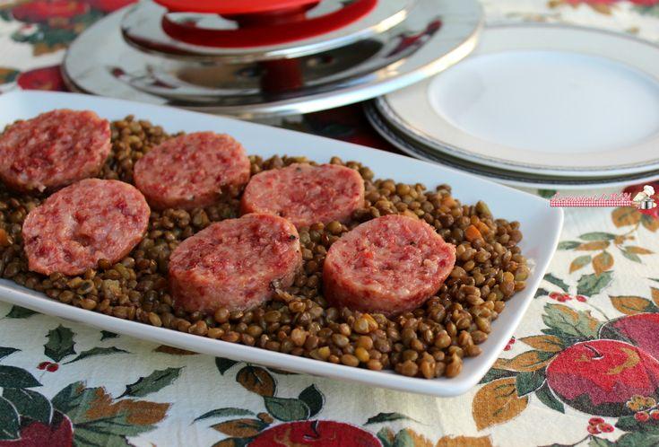 Cotechino e lenticchie con magic Cooker, ricetta classica per Capodanno ma risparmiando tempo ed energia e utilizzando pochi grassi